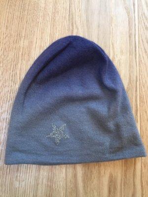 Warm-Me Bonnet gris-gris violet cachemire