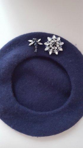 Orsay Cappello in tessuto blu scuro