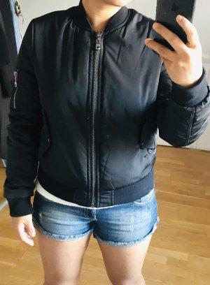 bebe Bomber Jacket black