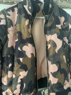 Warme Camouflage Jacke