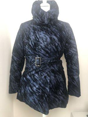 Armani Collezioni Doudoune bleu foncé-noir