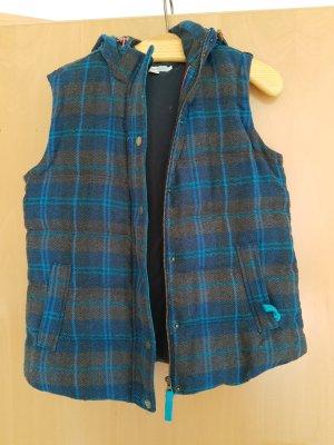 Boden London Puchowa kamizelka ciemnoniebieski Tkanina z mieszanych włókien