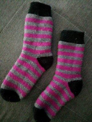 Warme dicke Socken