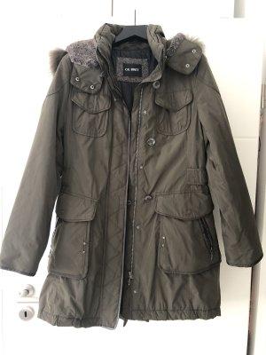 Gil Bret Fur Jacket green grey-khaki