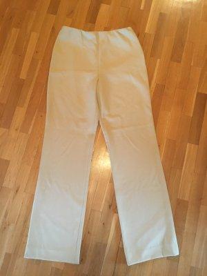 Georges Rech Pantalone di lana crema Viscosa