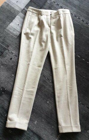 Joop! Pantalón de pinza crema-gris claro Poliéster