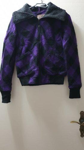 AJC Between-Seasons Jacket black-dark violet