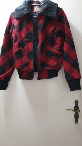 AJC Between-Seasons Jacket black-red