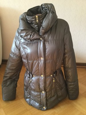 Apanage Winter Jacket grey brown polyester