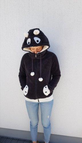 Warme kuschelige Jacke | Pandajacke | Kuscheljacke