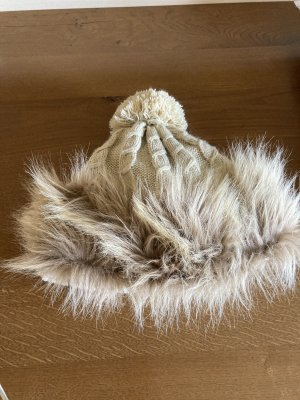 Fur Hat beige