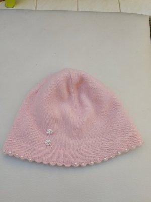 H&M Chapeau en tricot rose clair-rose