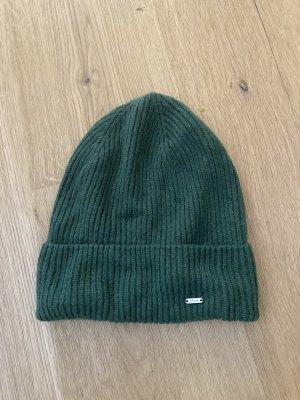 Opus Knitted Hat dark green