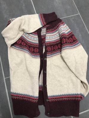Warme Norweger-Strickjacke in Gr. M
