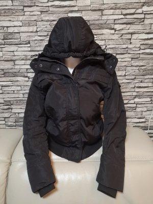 warme Peuterey Jacke schwarz Gr M 38
