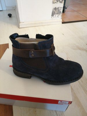 Rieker Zapatos sin cordones azul oscuro