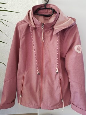 Laura Torelli Softshelljack roze Polyester