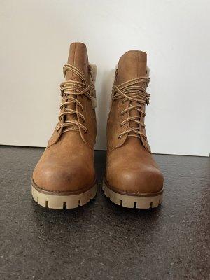 s.Oliver Short Boots beige-brown