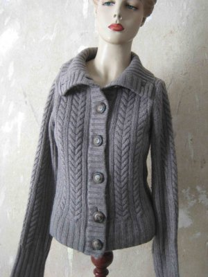 Blaumax Coarse Knitted Jacket grey viscose