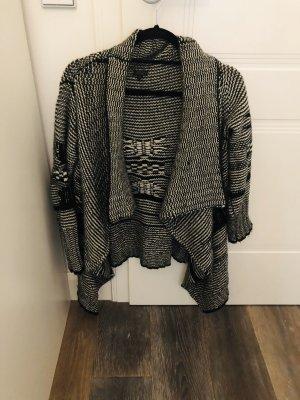 Firetrap Cardigan a maglia grossa nero-bianco