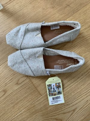 Toms Slip-on Shoes light grey