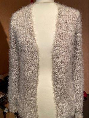 Atmosphere Smanicato lavorato a maglia beige chiaro-marrone-grigio