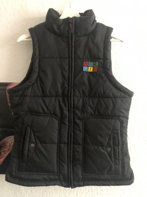 Quilted Gilet black