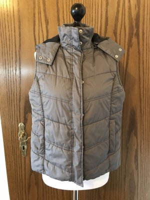 Quilted Gilet grey