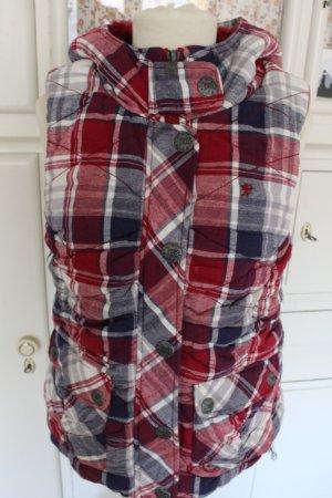Esprit Hooded Vest multicolored cotton