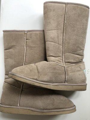 Even & Odd Snow Boots camel-cream