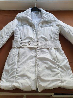 Giacca invernale bianco Tessuto misto