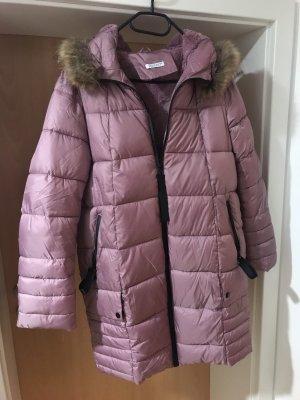Warme Winterjacke mit Kaputze