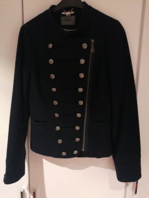 Only Wool Jacket black-dark blue
