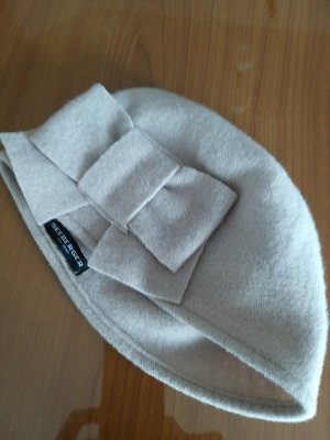 Seeberger Woolen Hat natural white wool