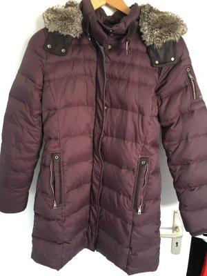 Esprit Manteau en duvet brun pourpre