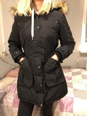 warmer Diesel Parka Diesel Jacke, XS, tailliert schwarz