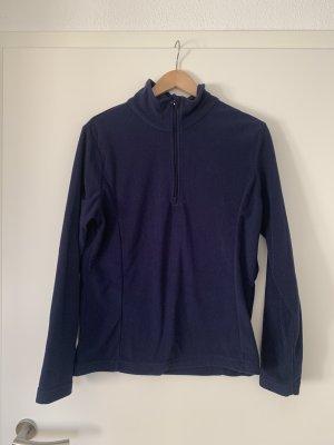 CMP Polarowy sweter ciemnoniebieski