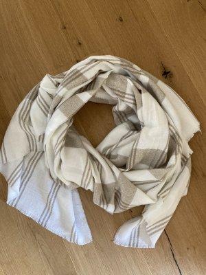 s.Oliver Bufanda de lana blanco puro-beige