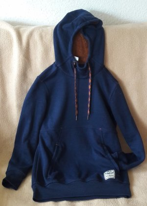 Decathlon Jersey con capucha azul oscuro Poliéster