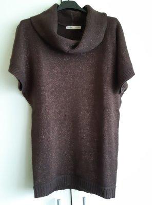 Warmer kurzärmeliger Pullover