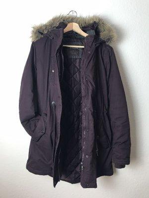 Blue Motion Manteau à capuche multicolore