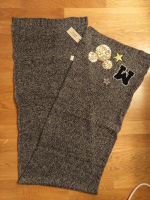CODELLO x Disney Écharpe en laine blanc-gris