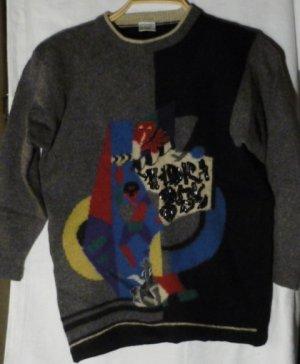 Warmer kuscheliger Vintage Pullover
