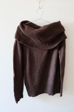 warmer Pullover mit Angor a und Kaschmir