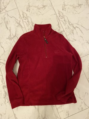 Luciano Barbera Pull-over à col roulé rouge carmin