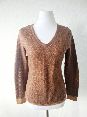 Carole Little Knitted Sweater brown
