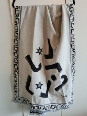 Liu jo Knitted Scarf white-black