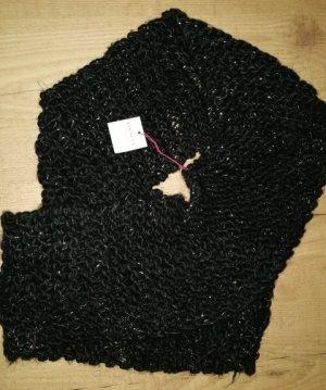 DENTS Sciarpone nero Acrilico