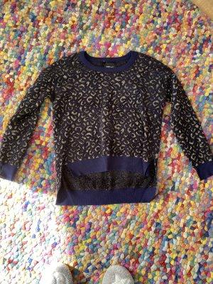 Zara Knit Cropped Jumper multicolored