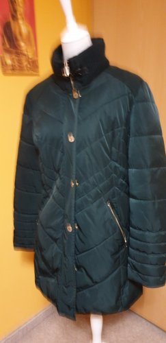 Gerry Weber Quilted Coat dark green polyester